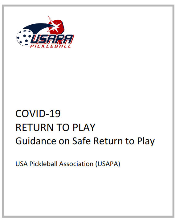 Return to Pickleball Play