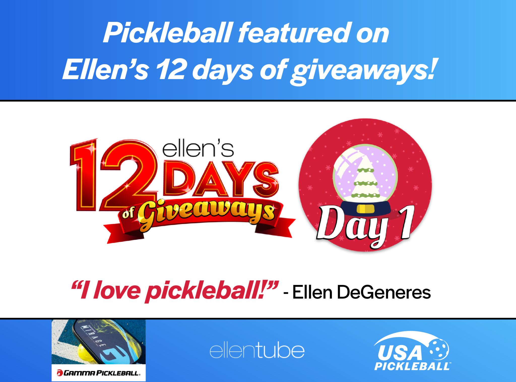Ellen 12 days of giveaways pickleball web-01