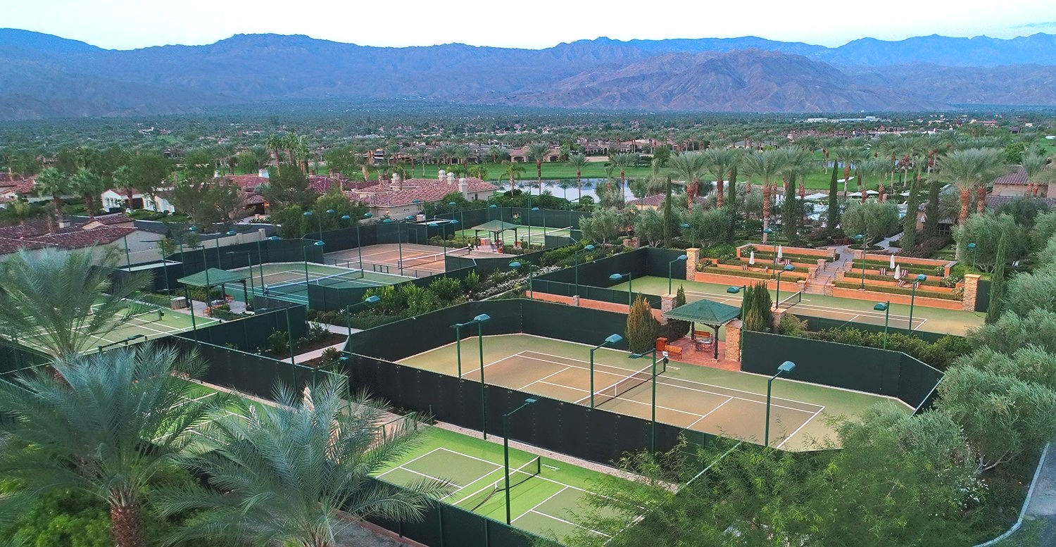 Acoustiblok Toscana Country Club Pickleball Court with Acoustifence
